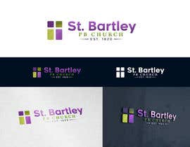 nº 188 pour Logo Design for St Bartley Church par arjeyjimenez