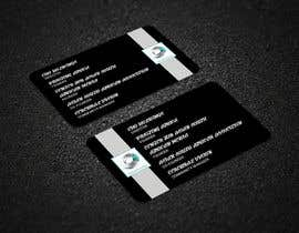#16 for Quickly design a modern black and silver Business card by ruman254