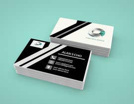 #24 for Quickly design a modern black and silver Business card by rahmanshanu