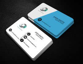 #13 for Quickly design a modern black and silver Business card by earhossain20