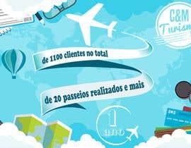 #10 for Design - Aniversário de Empresa - Turismo - 1 ano by arazyak