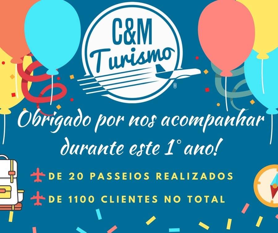 Proposition n°12 du concours Design - Aniversário de Empresa - Turismo - 1 ano