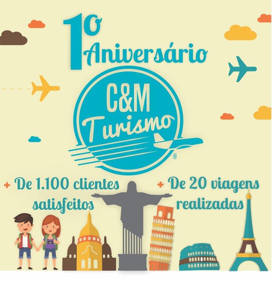 Proposition n°8 du concours Design - Aniversário de Empresa - Turismo - 1 ano