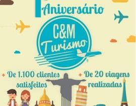 #8 for Design - Aniversário de Empresa - Turismo - 1 ano by jmdgpi