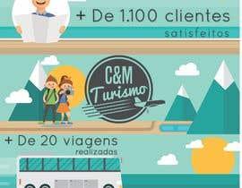 #11 for Design - Aniversário de Empresa - Turismo - 1 ano by jmdgpi
