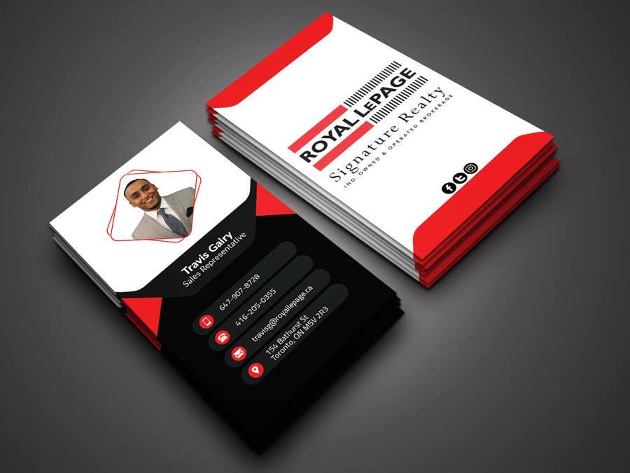 Proposition n°187 du concours Design some Business Cards
