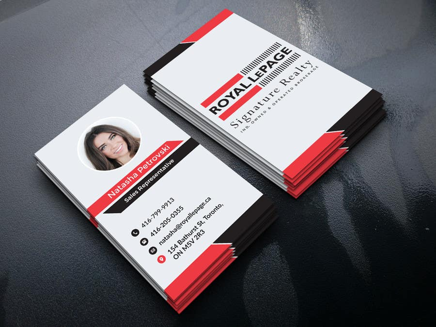 Proposition n°262 du concours Design some Business Cards