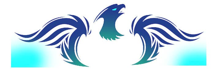 Proposition n°1 du concours I need a blue phoenix to represent my brand
