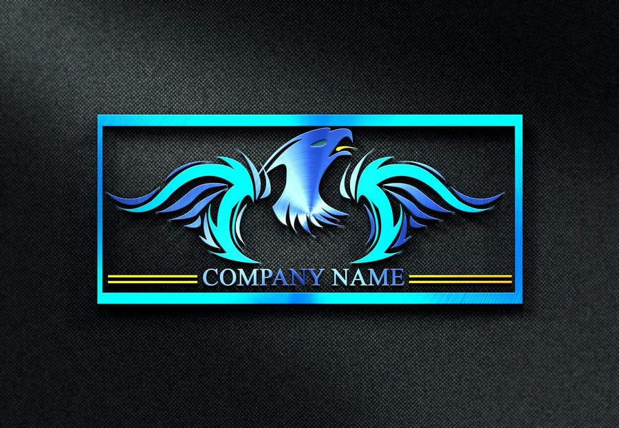 Proposition n°11 du concours I need a blue phoenix to represent my brand