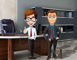 nº 1 pour Two avatar cartoons par SamiEssid
