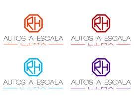 #40 for Logotipo de RH Autos a Escala Lima by rosselynmago