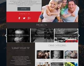 nº 7 pour Modern responsive Website inspired by another website par Neverseendesign