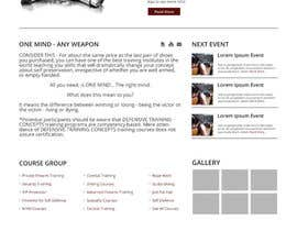 Nro 7 kilpailuun Joomla Home Page Design käyttäjältä bimaptra30
