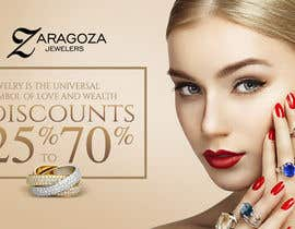 nº 2 pour Design a 3 Banner for a jewelry store par madartboard