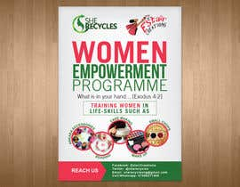 #7 for FLyer design for women empowerment by teAmGrafic