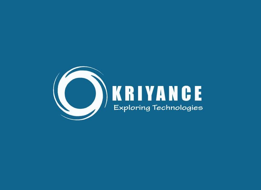 Inscrição nº                                         34                                      do Concurso para                                         Design a Logo for kriyance