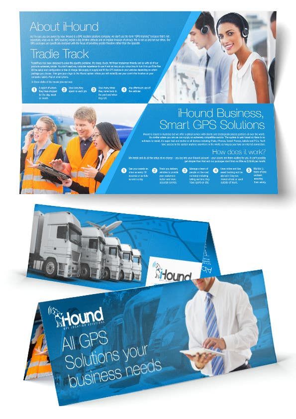 Konkurrenceindlæg #                                        12                                      for                                         Design a Brochure for iHound