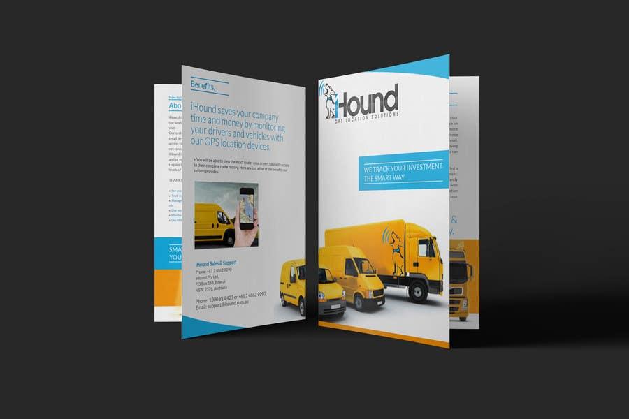 Konkurrenceindlæg #                                        32                                      for                                         Design a Brochure for iHound