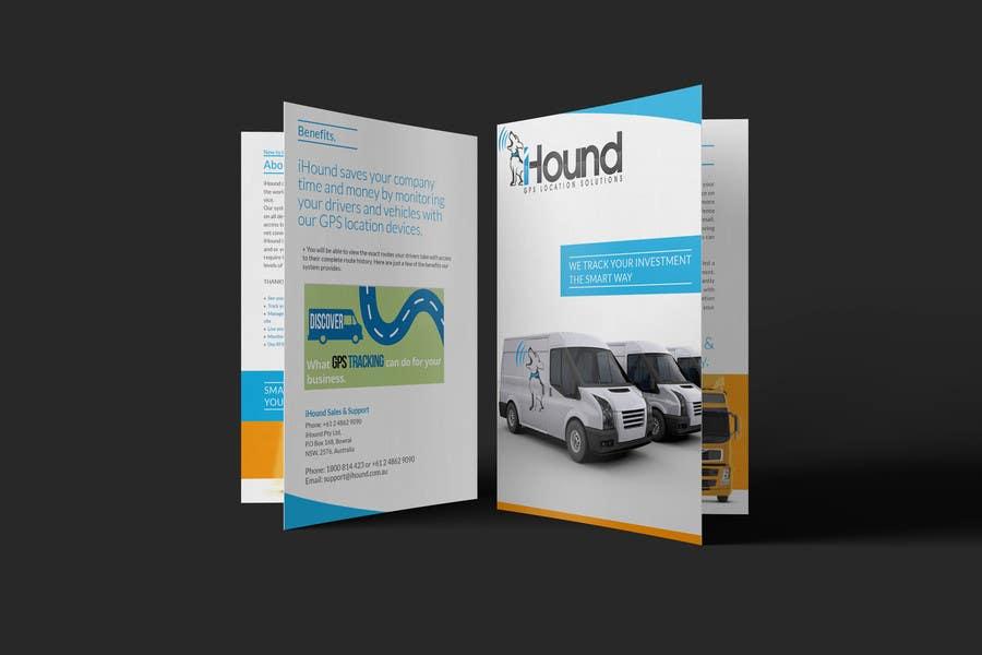 Konkurrenceindlæg #                                        33                                      for                                         Design a Brochure for iHound