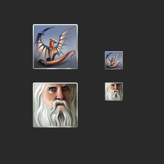 Proposition n°17 du concours RPG App Icons