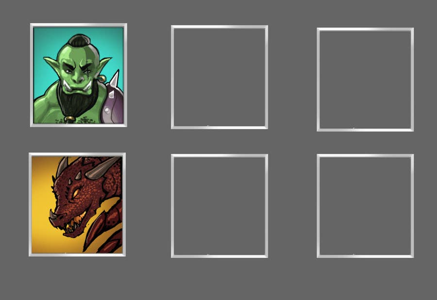 Proposition n°2 du concours RPG App Icons