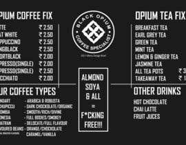 nº 87 pour Coffee Shop Menu Design par prakash777pati