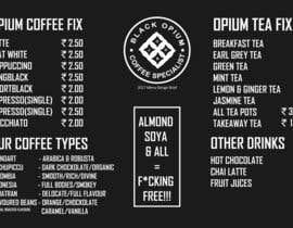nº 88 pour Coffee Shop Menu Design par prakash777pati