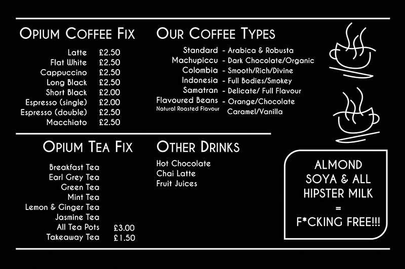 entry 68 by reddmac for coffee shop menu design freelancer