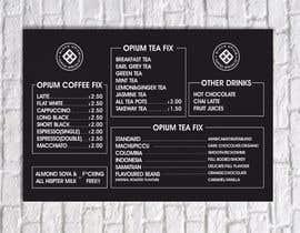 nº 85 pour Coffee Shop Menu Design par elbugraphic
