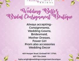 nº 12 pour Advertise bridal consignment business par spa182010