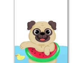 #6 for Swimming Pug Illustration Required by STrangethoughts