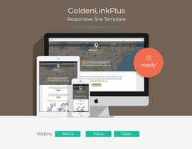 nº 24 pour Landing page for Gold par insidemadhouse
