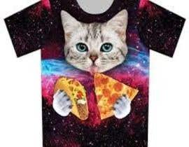 "#17 for T-shirt design ""Cat-programmer"" by syazwanijamal"