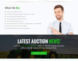 nº 2 pour Design a Website Mockup for Auctioneers par webmastersud