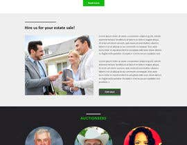 #18 for Design a Website Mockup for Auctioneers by bestwebthemes