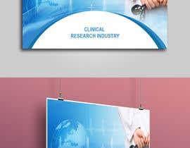 nº 14 pour Design a banner for clinical research web app par mhtushar322