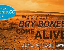#21 for Dry Bones Web Banner by sharpensolutions