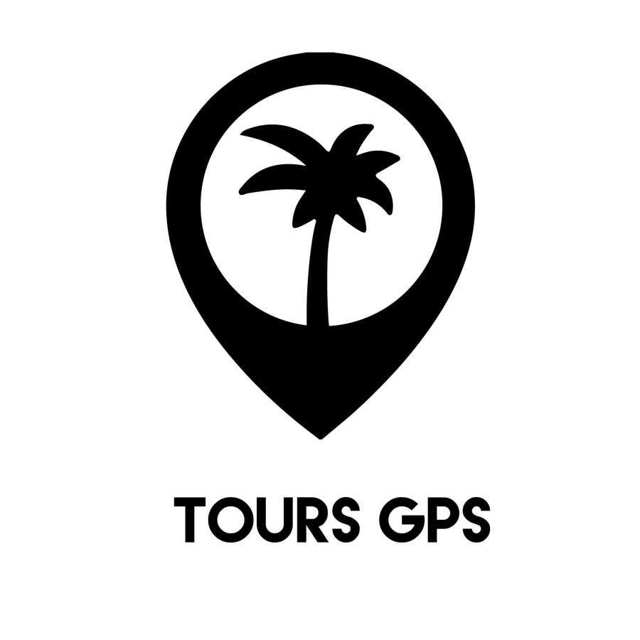 Kilpailutyö #                                        143                                      kilpailussa                                         To design a logo for Tours GPS