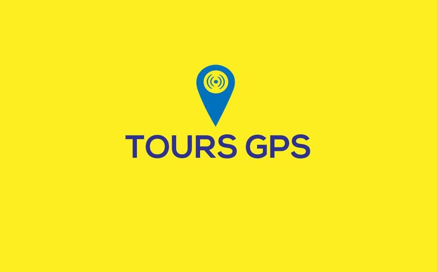 Kilpailutyö #                                        114                                      kilpailussa                                         To design a logo for Tours GPS