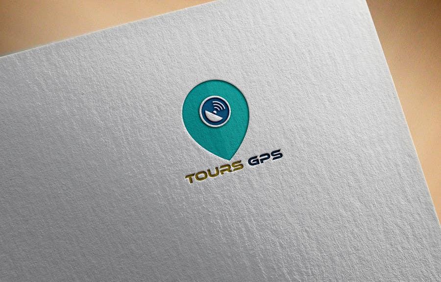 Kilpailutyö #                                        119                                      kilpailussa                                         To design a logo for Tours GPS