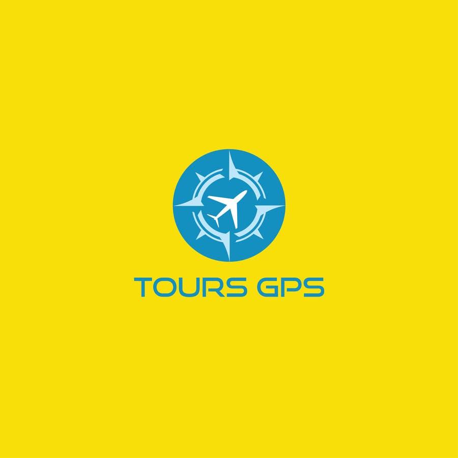 Kilpailutyö #                                        123                                      kilpailussa                                         To design a logo for Tours GPS