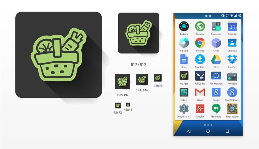 Proposition n°13 du concours Quick contest: Design a Logo for App + App Icon