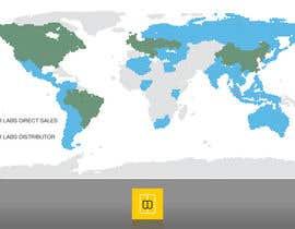Nro 2 kilpailuun World map for website käyttäjältä marcelomatsumot