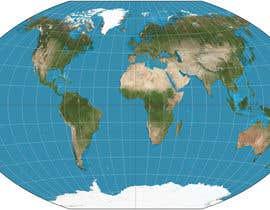 Nro 1 kilpailuun World map for website käyttäjältä mayankmca