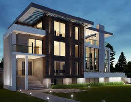 nº 14 pour Realistic renderings...two images for exterior building and one night rendering!!! par edmilsonsousa
