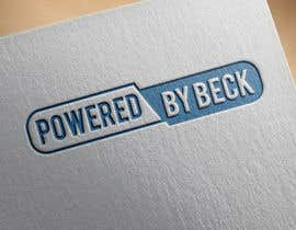#90 for Powered By Beck Logo by zaidqamar2