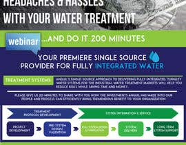 #10 for 1 Page Brochure_Water Treatment by ahmedhanyelgamal