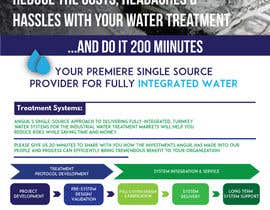 #18 for 1 Page Brochure_Water Treatment by ahmedhanyelgamal