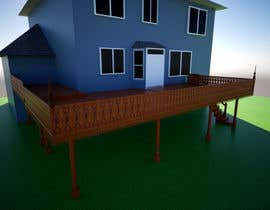 #29 for Create a concept home deck by ammarsya4