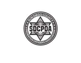 nº 74 pour Design a Logo for the SDCPOA the San Diego County Probation Officers Association par jakirhossenn9